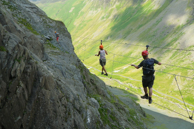 Honister via ferrata - Lake district - best Outdoor Activity Insurance Public Liability