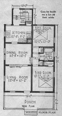 sears sunlight floor plan 1929 catalog