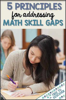 5 principles for addressing math skill gaps