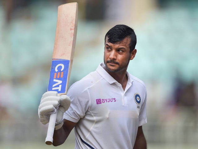 Mayank Agarwal, an emerging cricketer of India,Cricket,Sports,