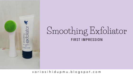 forever living smoothing exfoliator