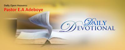 Open Heavens: Resist The Devil by Pastor E.A Adeboye