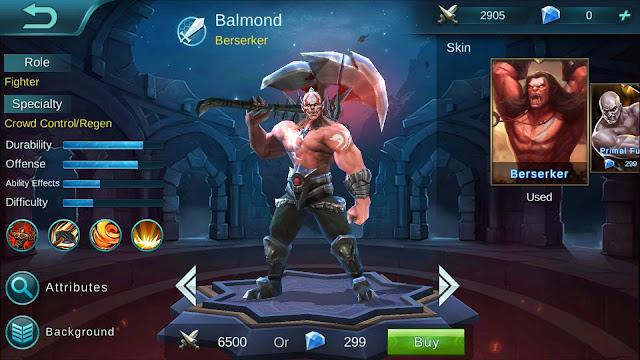 Balmond Hero Terbaik Mobile Legends