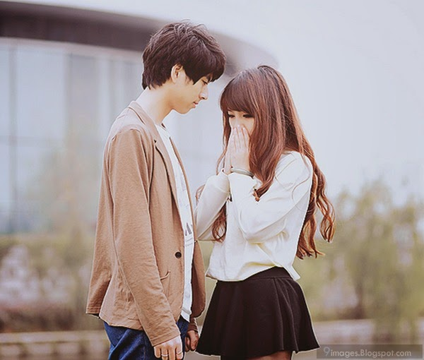 alone sad girl and boy couple love emotions