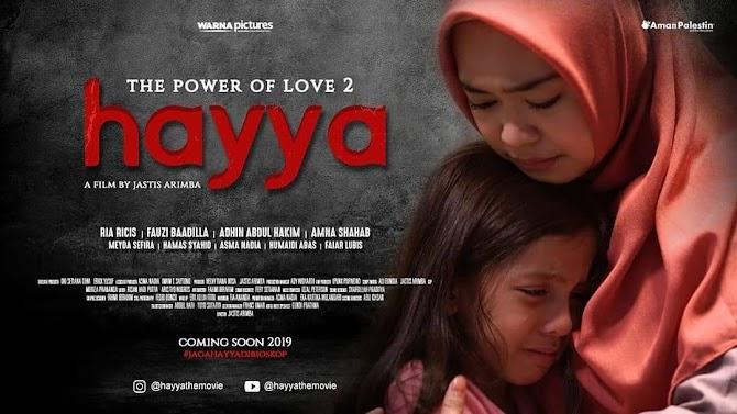 Sinopsis Film Hayya yang Akan Tayang Tanggal 19 September 2019