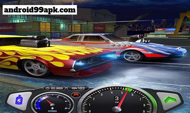 لعبة Top Speed v1.30.6 مهكرة بحجم 71 MB للأندرويد