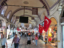 The Grand Bazaar, world's largest bazaar and shopping center, Istanbul, Turkey