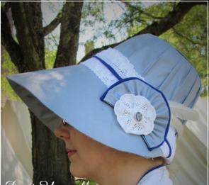diy tutorial regency stovepipe hat bonnet