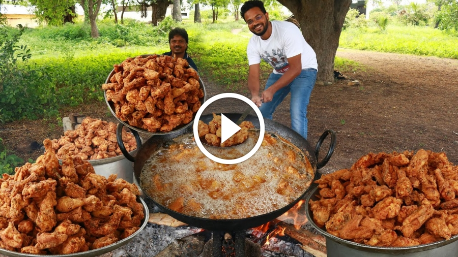 Popeyes Chicken Recipe | Popeyes Fried Chicken | grandpa kitchen