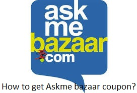 How to get Askme bazaar coupon?