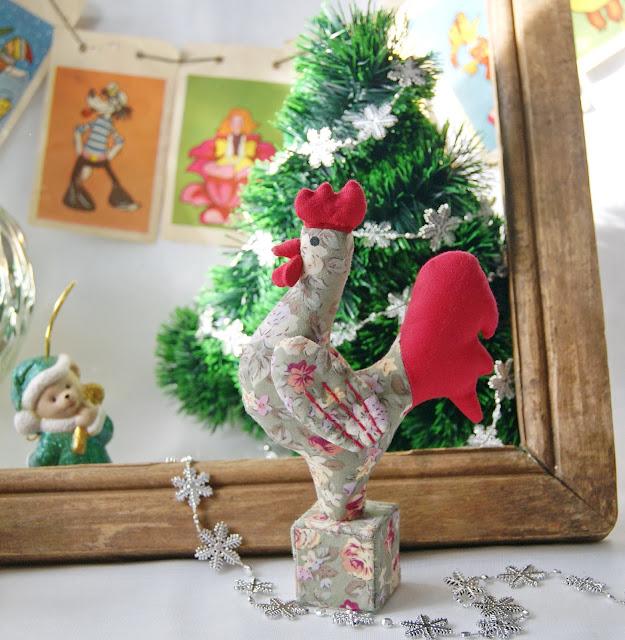 символ 2017 года Петух,текстильный петух, сувенир к новому году, подарок к новому году, петух, новогодний петух, петух из ткани, символ года, ручная работа, 2017, год петуха, петушок  ,