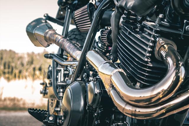 Yamaha XT600 By Ironwood Custom Motorcycles Hell Kustom