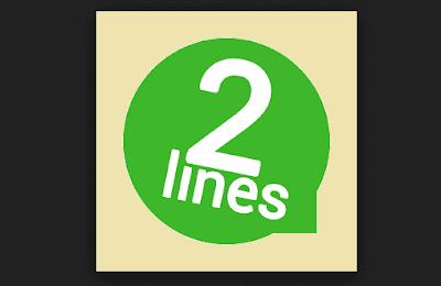 تحميل برنامج 2 lines for Whatsapp لتشغيل اكتر من واتساب على هاتف واحد