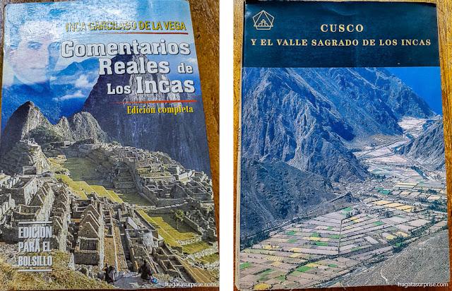 Livros sobre a história de Cusco