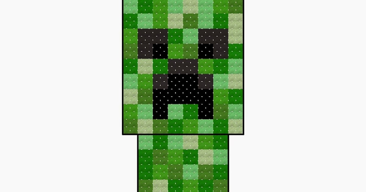 Happy Cupcake Creations Free Minecraft Creeper Cross