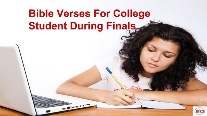 Bible Verses For College Student During Finals
