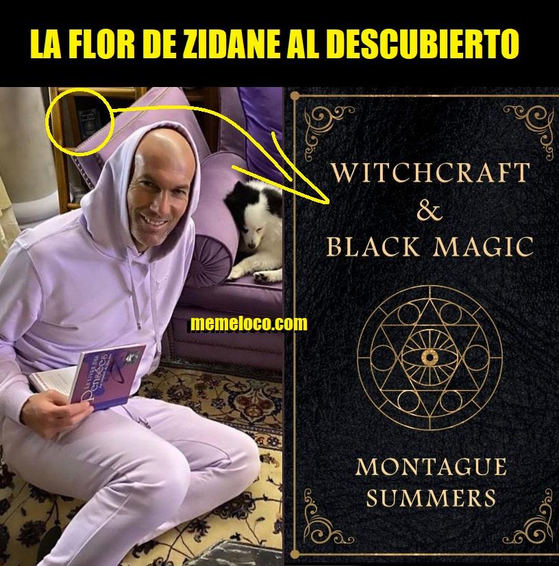 La Flor de Zidane al descubierto libro brujería