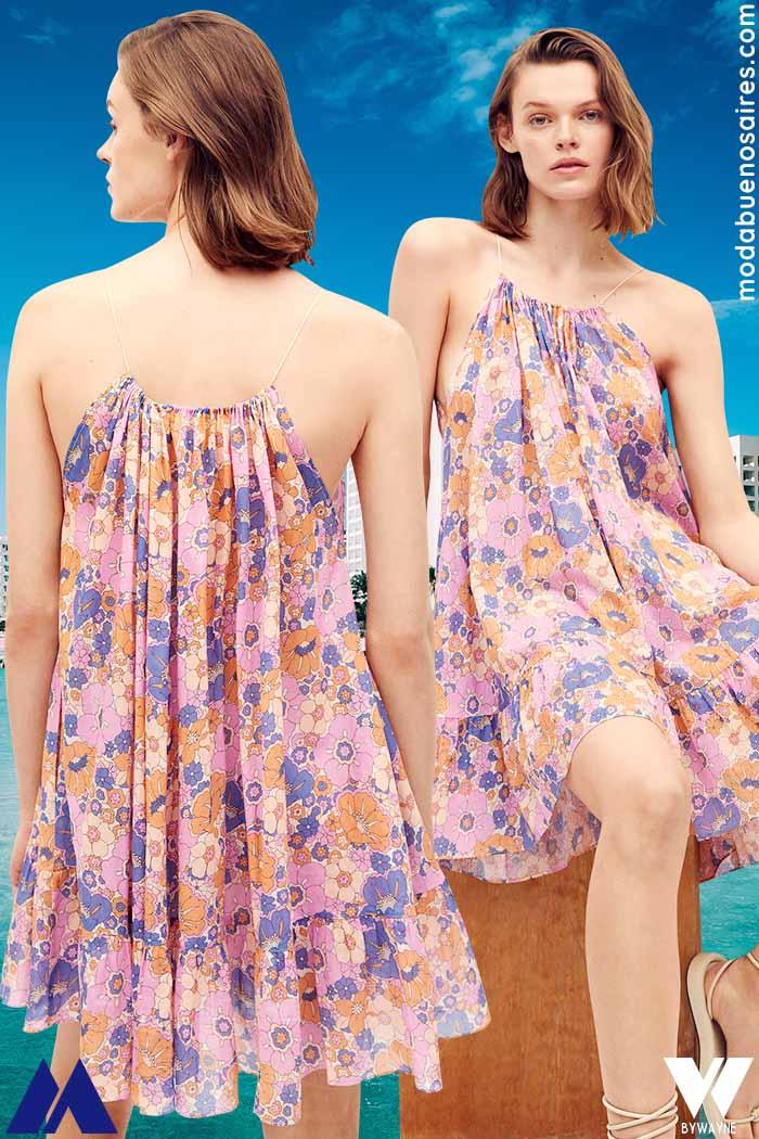vestidos cortos playeros verano 2022