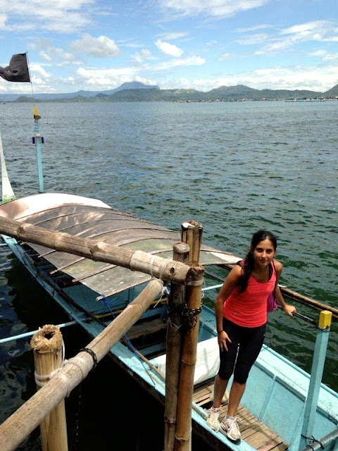 Boat Ride to Taal
