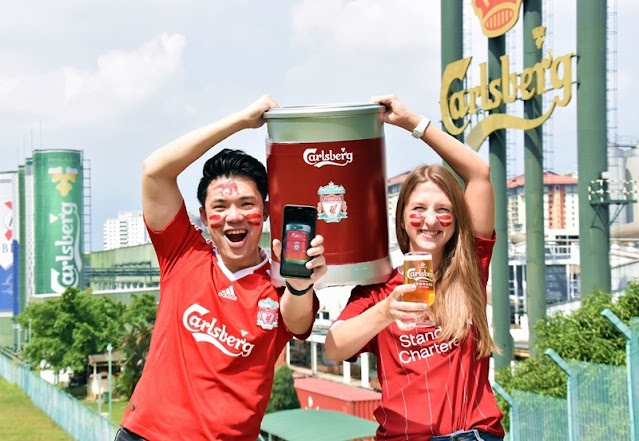 Carlsberg Going Red - Liverpool Premier League Champion