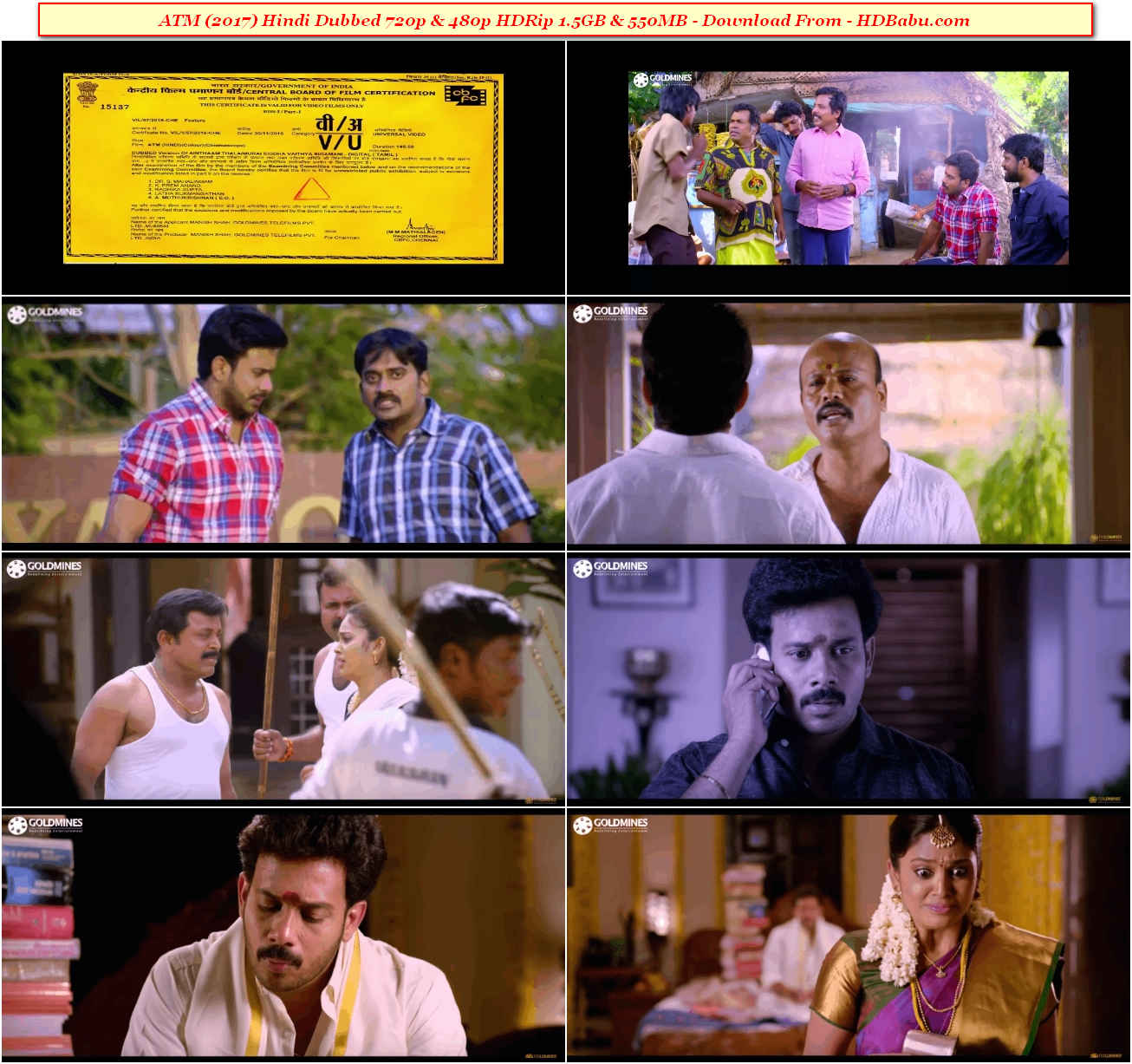 ATM Hindi Dubbed Full Movie Download