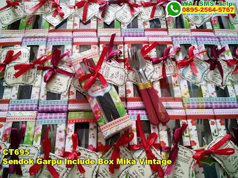 Harga Sendok Garpu Include Box Mika Vintage