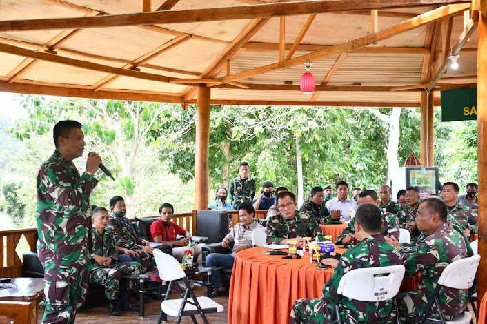 Danrem 142/Tatag Brigjen TNI Firman Dahlan, SIP: Berpikirlah seribu kali sebelum berbuat
