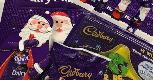 THE Cadbury COUNTDOWN TO CHRISTMAS Has begun