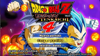 DESCARGA! INCREÍBLE ISO DBZ TTT MOD V4 + MENÚ STYLE BT4  [FOR ANDROID Y PC PPSSPP] + DOWNLOAD