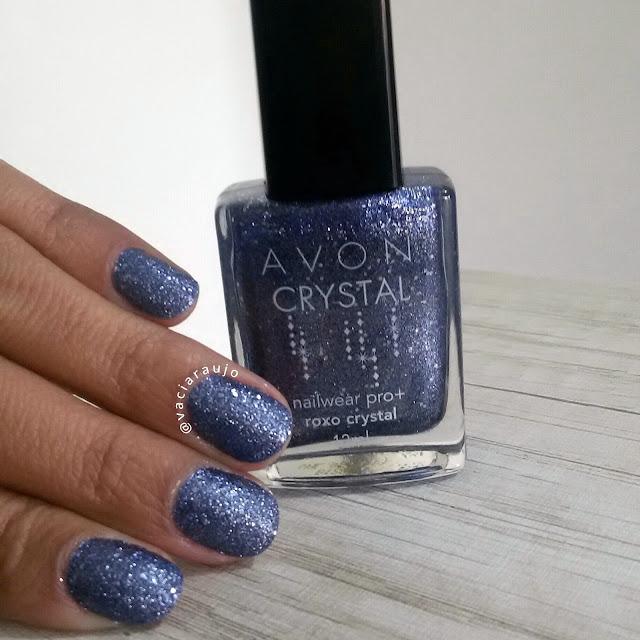 Esmalte Avon Roxo Crystal