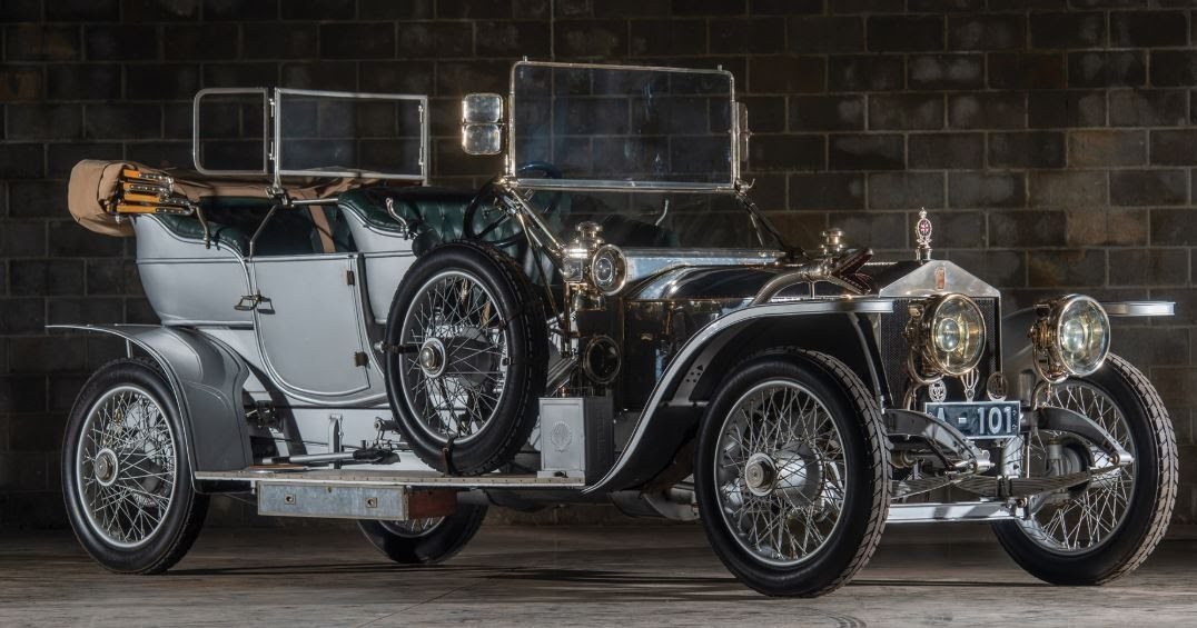 Just A Car Guy: 1909 Rolls-Royce 40/50 HP Silver Ghost Roi