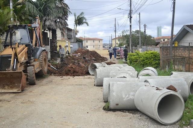 Prefeita Beti Pavin e Vereador Élcio estão transformando a região do Atuba em Colombo