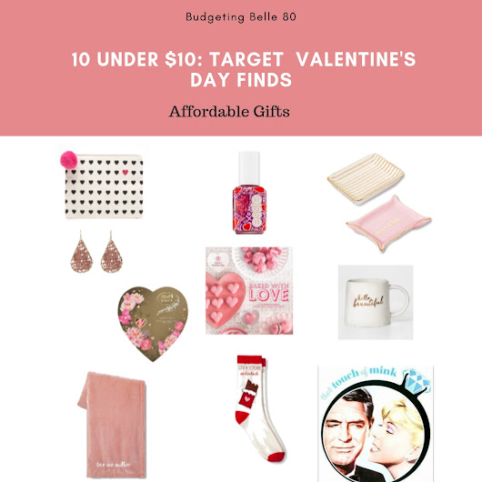 10 Under $10: Target Valentine's Day Finds