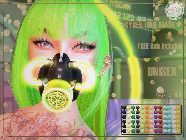 Cyber Tube Mask @ Mainframe