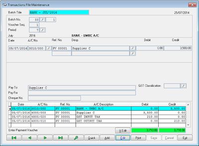 Software Perakaun Sage Ubs