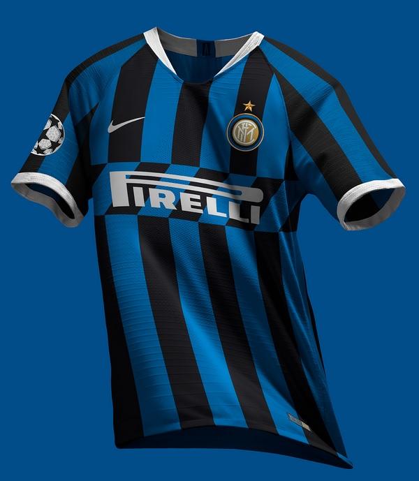Presentazione delle nuove maglie da calcio Inter Milan 2020