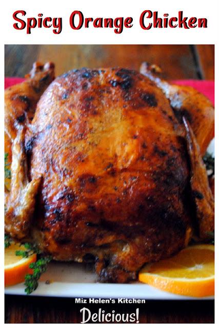 Spicy Orange Chicken at Miz Helen's Country Cottage