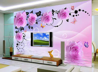 amazing 3D wallpaper for living room walls 3D wall murals images designs (3)