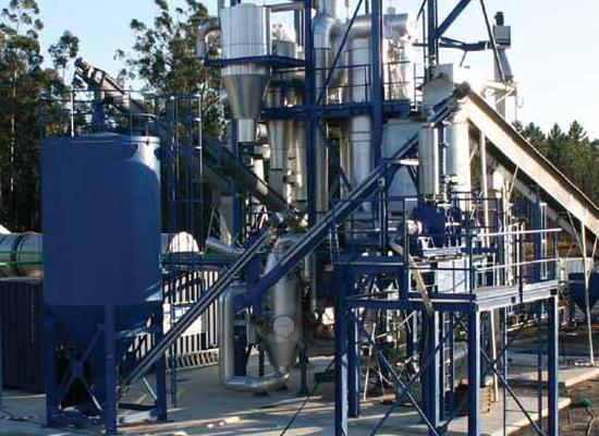 Technische status en perspectief van biomassavergassing in Nederland. Bron foto: www.stowa.nl