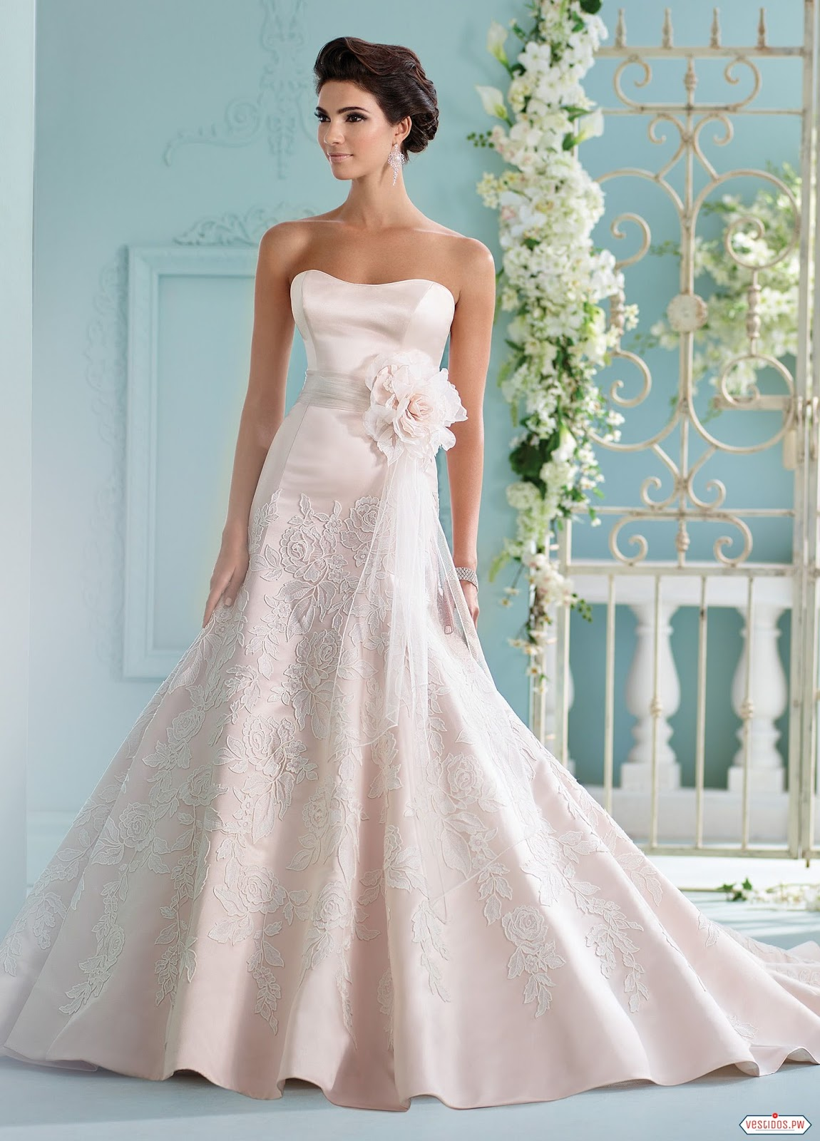 Fantastic Vestidos De Novia De Moda Gallery - All Wedding Dresses ...