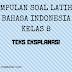 Bahasa Indonesia Kelas 8 - Soal Latihan Teks Eksplanasi