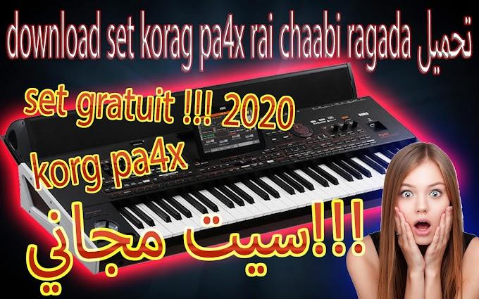 set korg pa 4x  rai chaabi maghribi tarabi mix