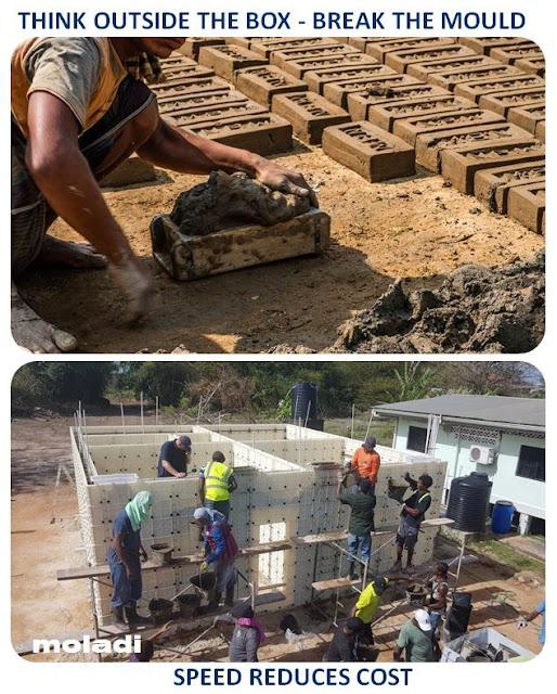 Brick making - Think outside the box