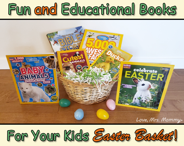 Easter Basket, national geographic, easter reading, easter books, easter basket gifts