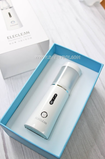 ELECLEAN Disinfectant Device Sanitiser Malaysia Penang Blogger Influencer