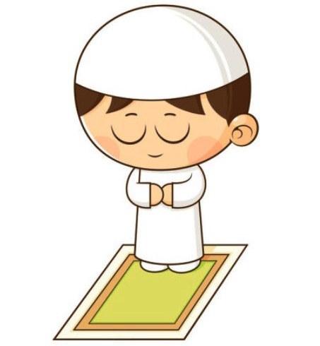 Gambar Animasi Anak Muslim Pergi Sholat 94 Gambar Kartun Sholat Anak Gratis Cikimm Com