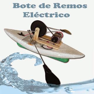 Bote de Remos Electrico
