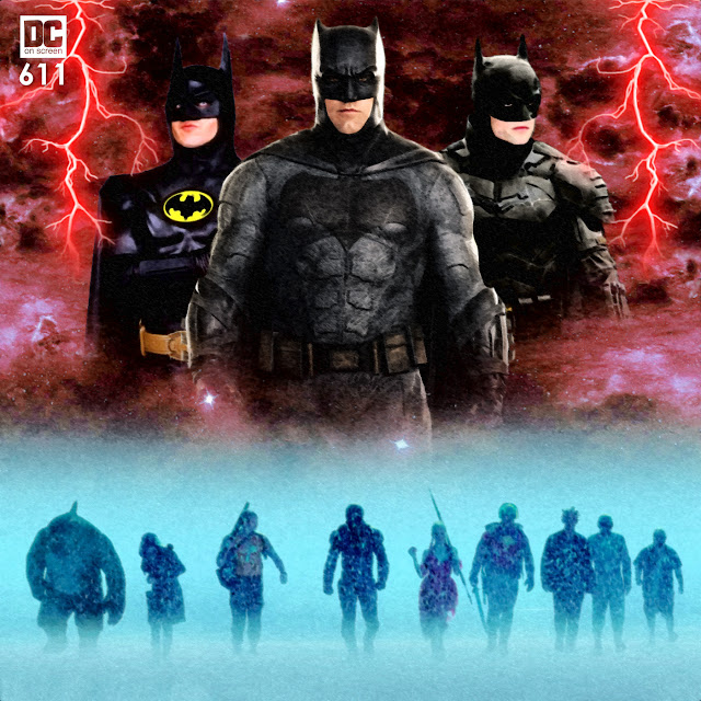 Michael Keaton Joins Ben Affleck and Robert Pattinson as Batman plus The Suicide Squad Text: DC on SCREEN 611