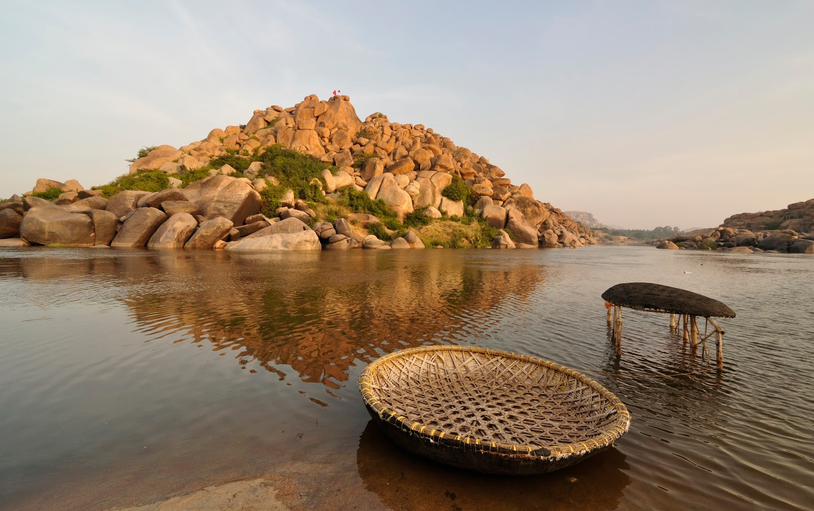 Traditional Boating Hampi
