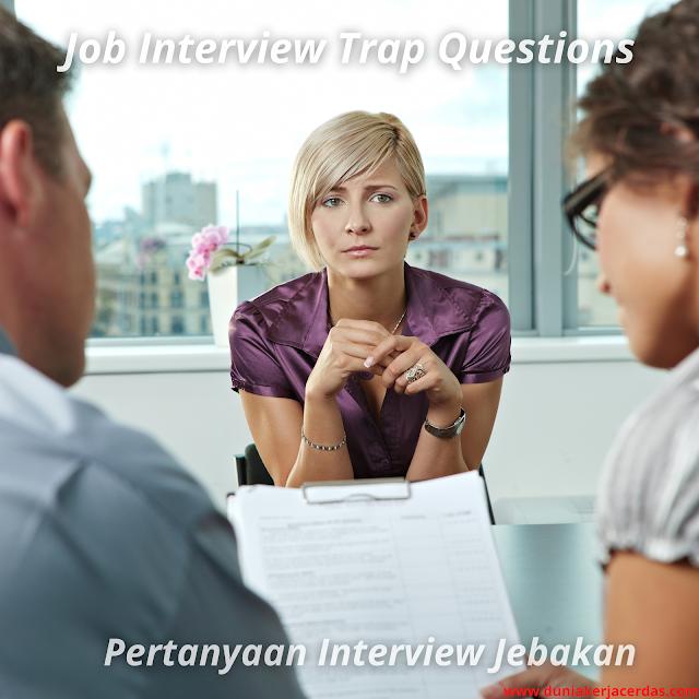 Job Interview Trap Questions